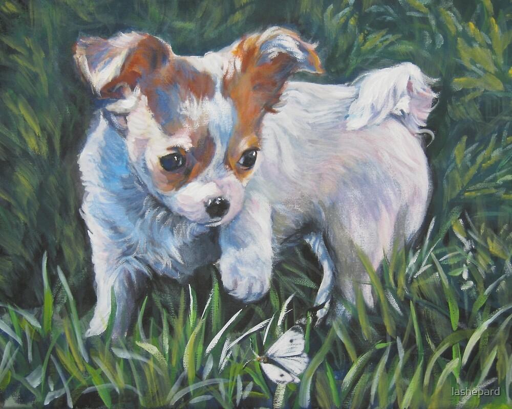 Chihuahua Fine Art Painting by lashepard
