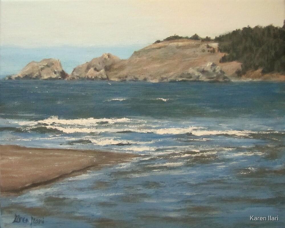 River Meets the Sea by Karen Ilari