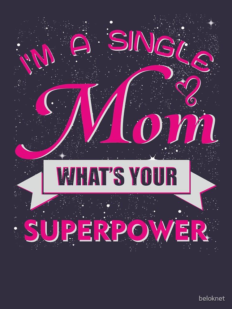 «Je suis une mère célibataire» par beloknet