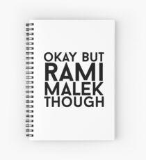 Cuaderno de espiral Rami Malek