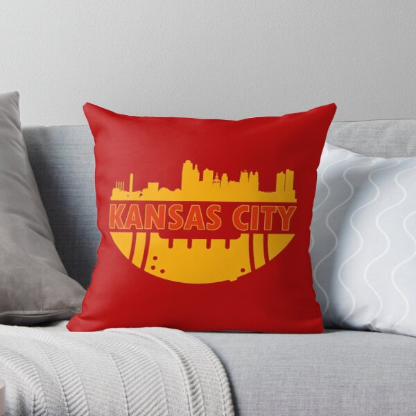 Skyline My city - Kansas City Throw Pillow