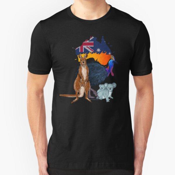 Saving Australia  Slim Fit T-Shirt