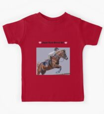 Just Get Over It! - Horse T-Shirt Kids Tee