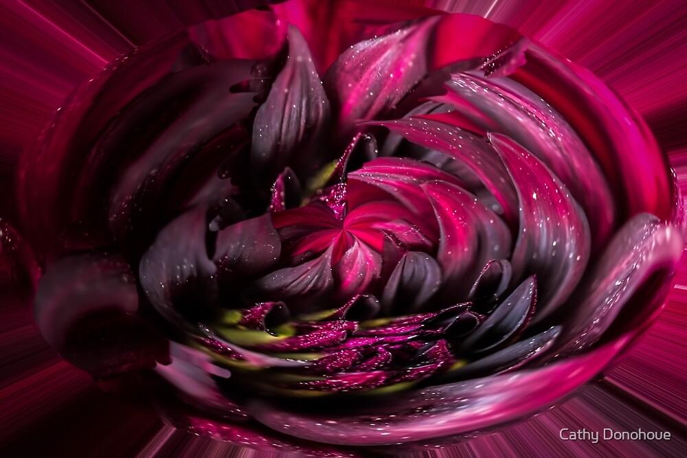 Purple Swirl by Cathy Donohoue
