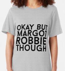 Margot Robbie Slim Fit T-Shirt