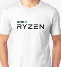 Best Seller - Amd Ryzen Logo Merchandise Slim Fit T-Shirt