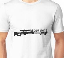 We know what's AWP Unisex T-Shirt
