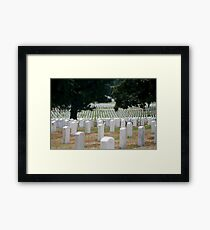 The Stregnth of our Fallen Soldiers Framed Print