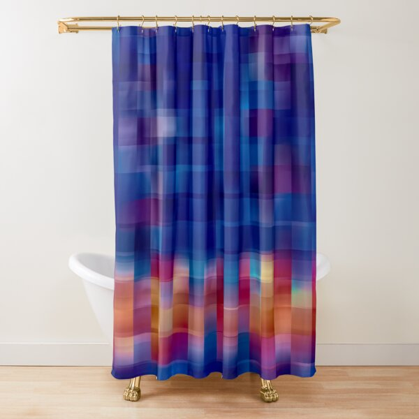 And So the Light Breaks Shower Curtain