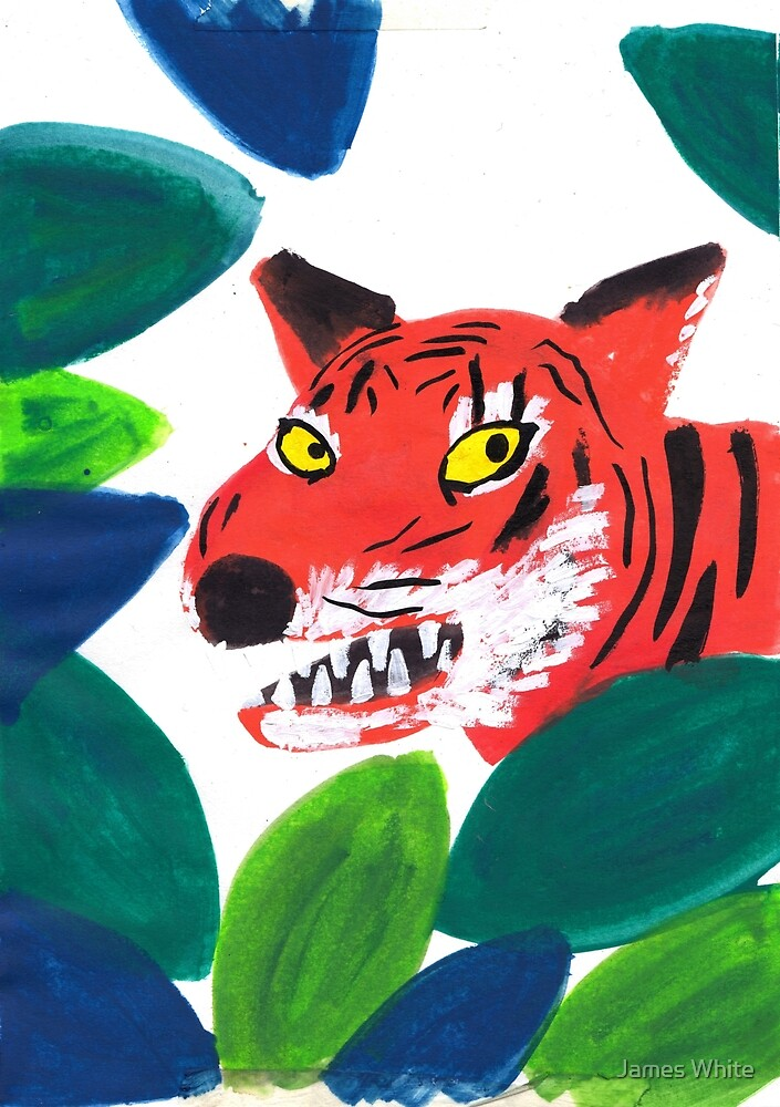 Tamar the Tiger by lintho