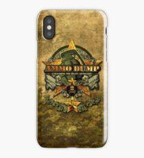 Ammo Dump iPhone case iPhone Case/Skin