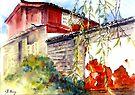 Proud Wall in Lijiang by bettymmwong