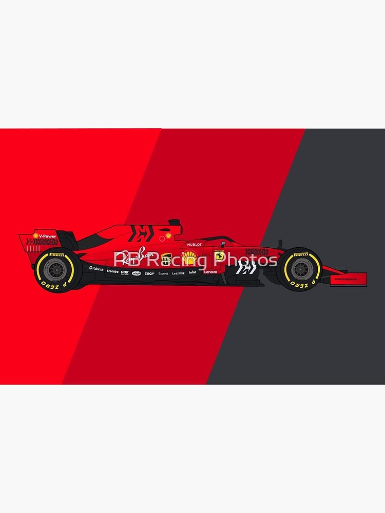 Formula 1 Scuderia Ferrari SF90 Digital Artwork by Piedro92