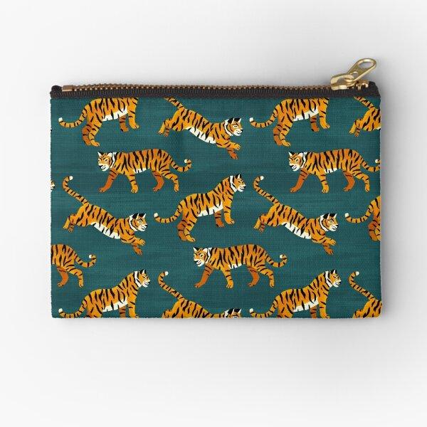 Bengal Tigers - Navy  Zipper Pouch