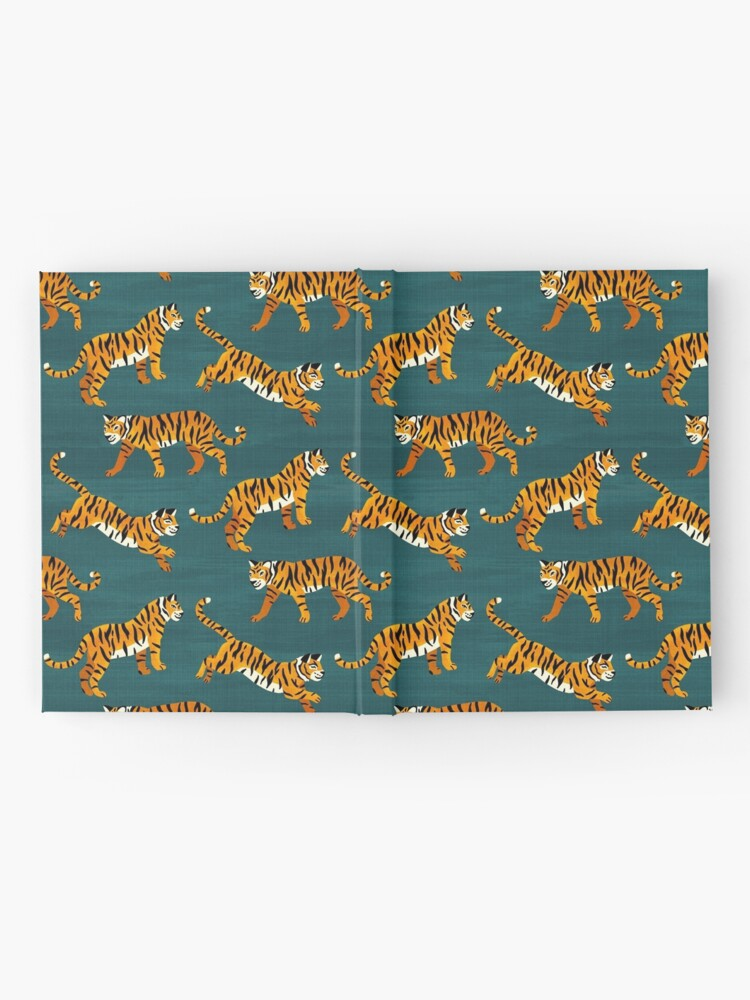 Alternate view of Bengal Tigers - Navy  Hardcover Journal
