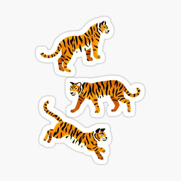 Bengal Tigers - Navy  Sticker