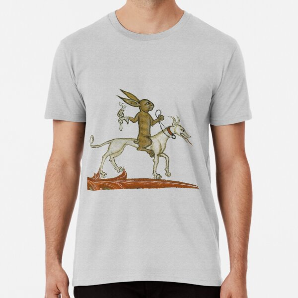 Rabbit out for a ride Premium T-Shirt