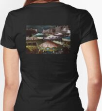 Carousels Women's Fitted V-Neck T-Shirt