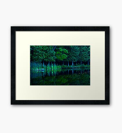 Lac Sainte Marie II Framed Print