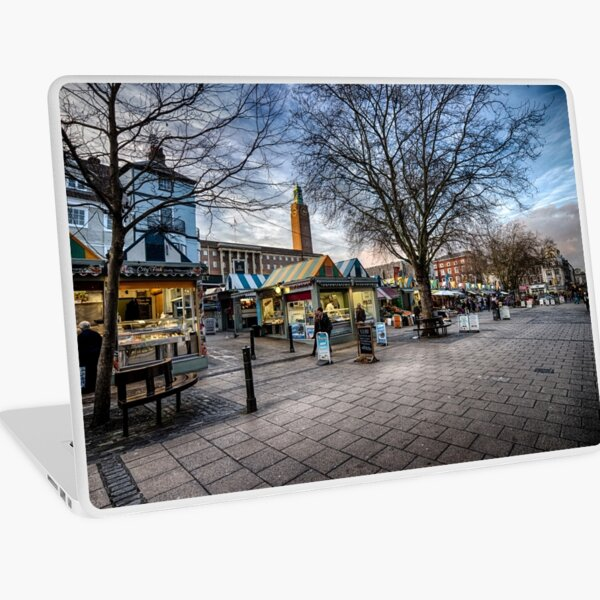 Gentleman's Walk, Norwich Laptop Skin