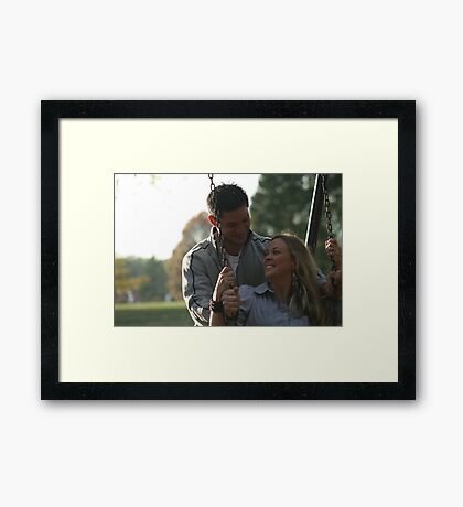Ryan and Danielle Framed Print