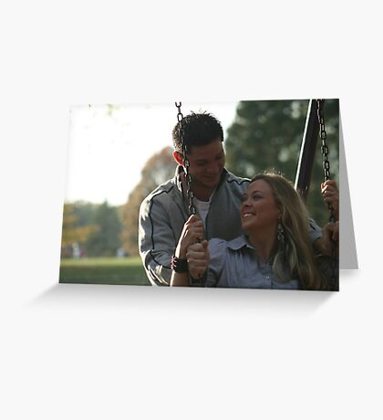 Ryan and Danielle Greeting Card