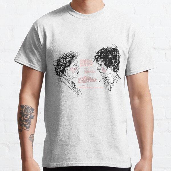 jo et laurie // script de petites femmes T-shirt classique
