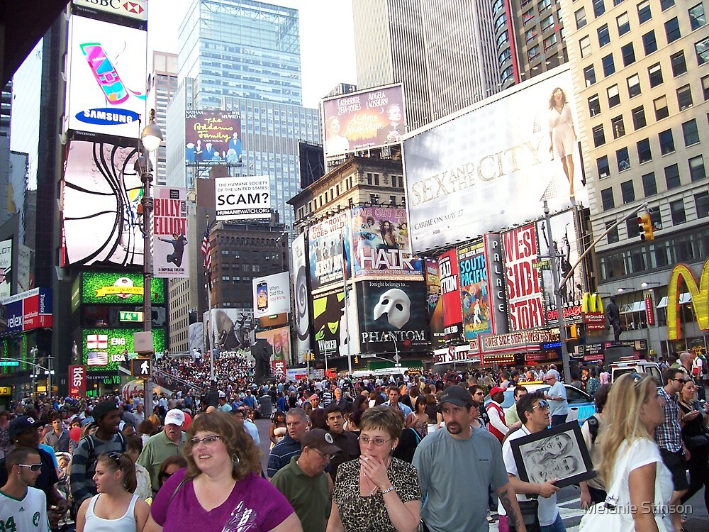 Times Square by Melanie Stinson