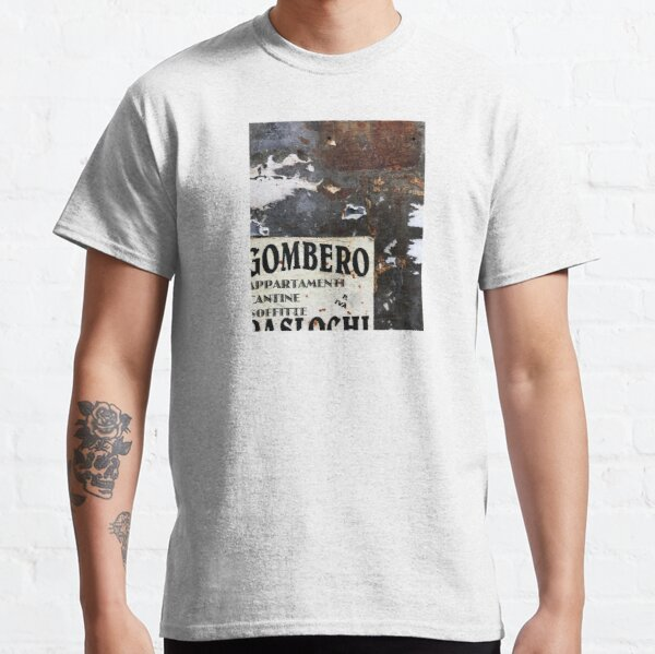 Rome Decollage / City Wall Composition Classic T-Shirt