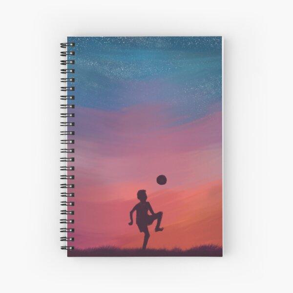 Sunset Play Spiral Notebook