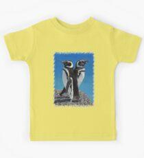 Cute Penguins T-Shirt Kids Clothes