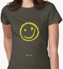 Bored. Womens Fitted T-Shirt
