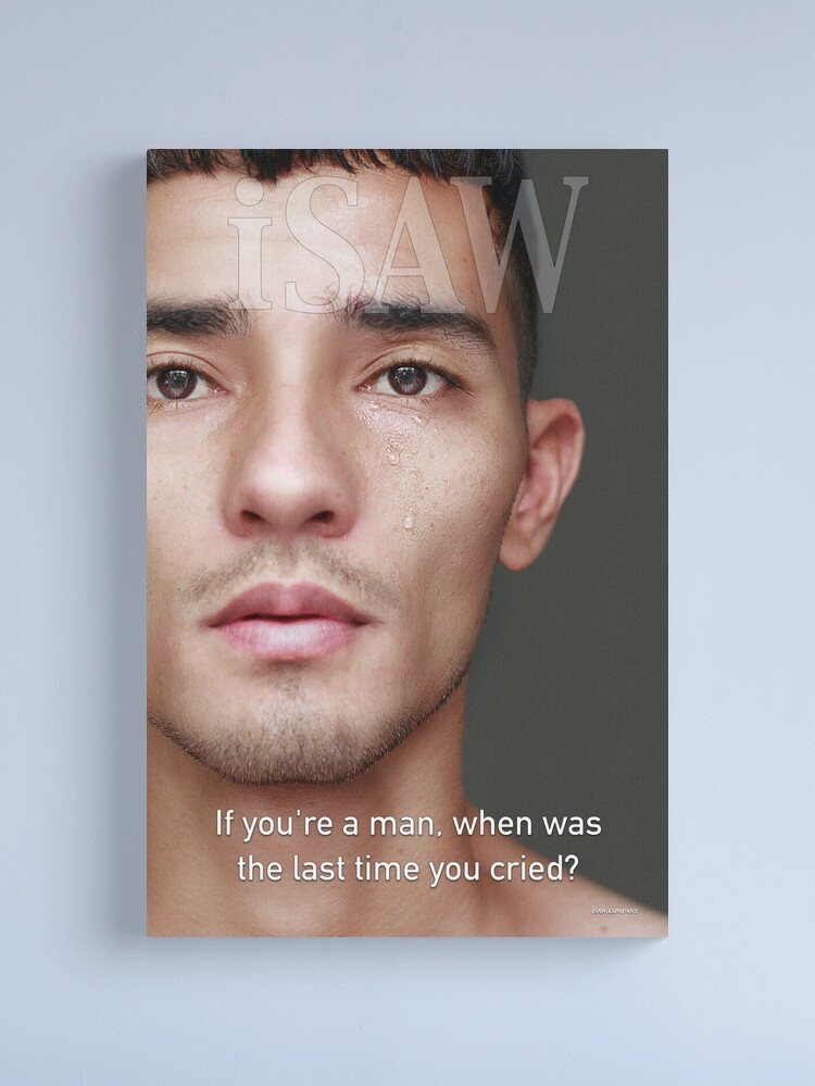 Alternate view of When Was The Last Time You Cried Canvas Print