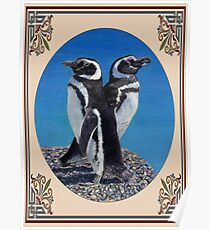 Cute Penguin Greeting Card - Any Occasion Poster