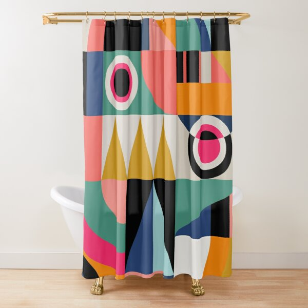 Graphic #13 Shower Curtain