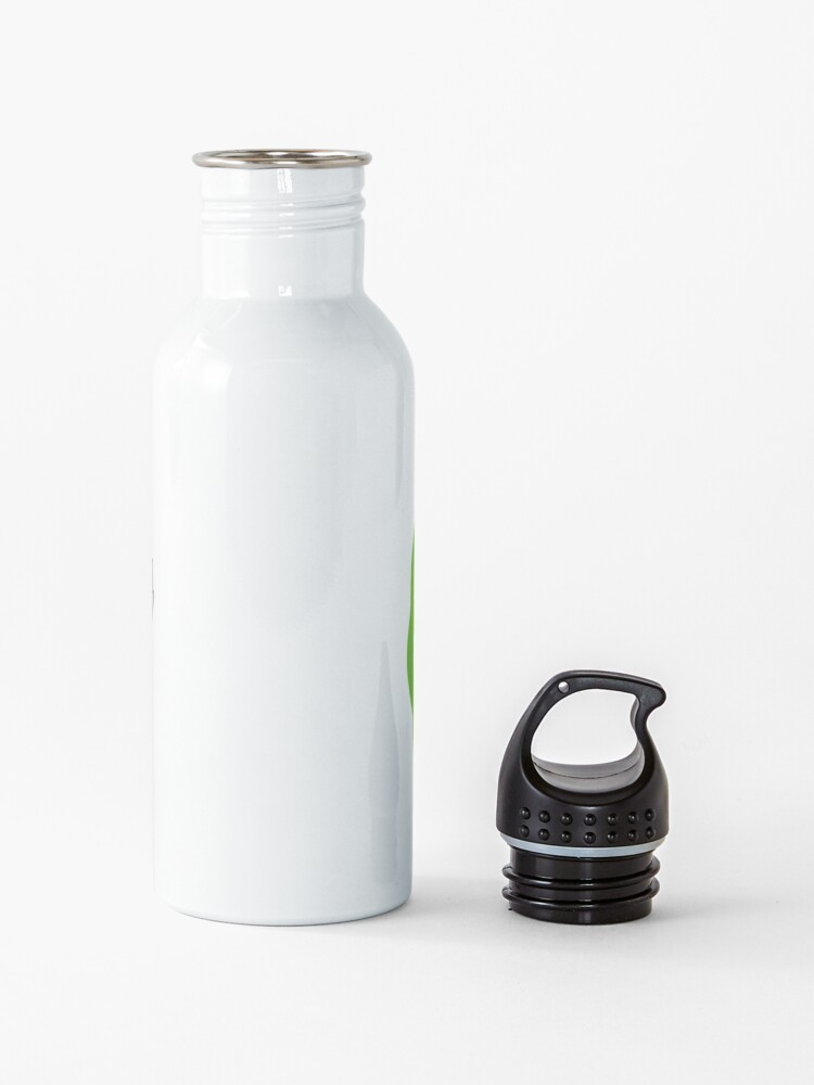 Alternate view of Rick and morty middle finger Water Bottle