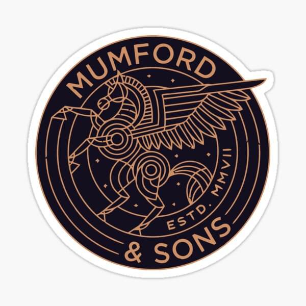 New Mumford Gift Sticker