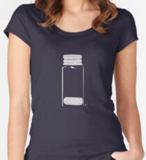 A Study in Pink (sans text) Women's Fitted Scoop T-Shirt