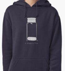 A Study in Pink Pullover Hoodie