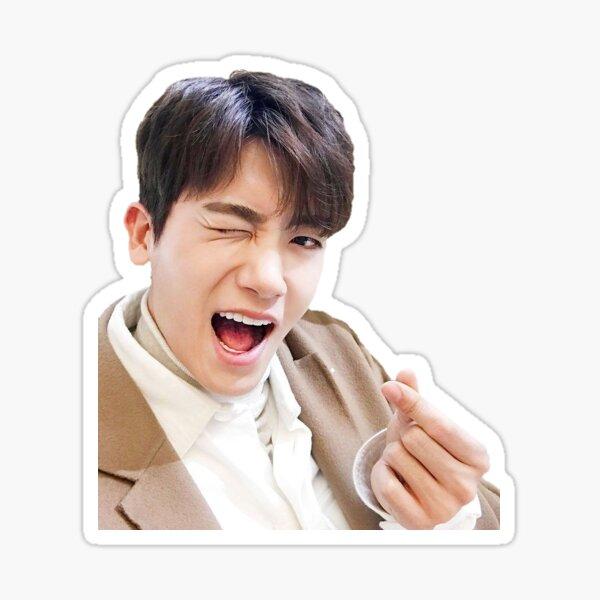 Park Hyung Sik finger hearts Sticker