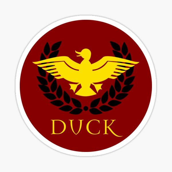 Duckracy Seal Sticker