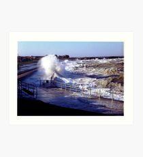 Minnis bay birchington Art Print