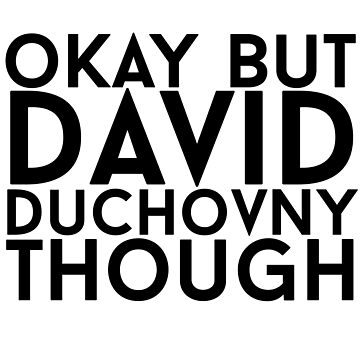 David Duchovny by eheu