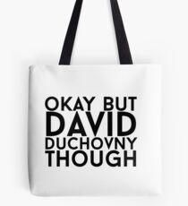 David Duchovny Tote Bag