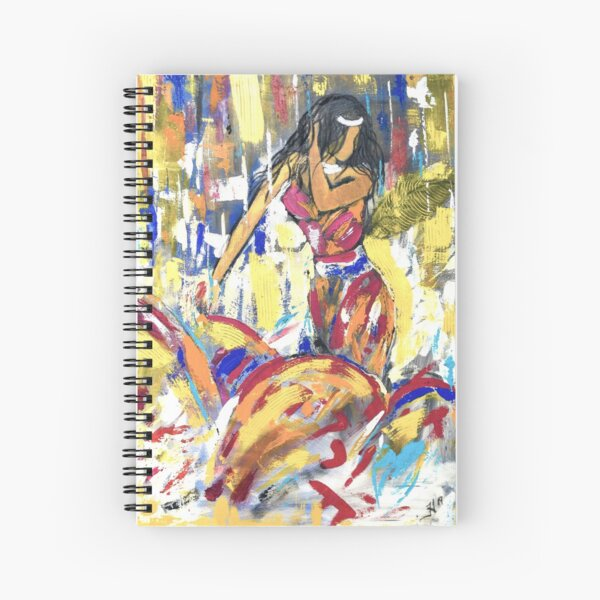 Diva Spiral Notebook