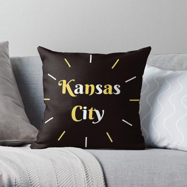 Love Kansas City KC Throw Pillow