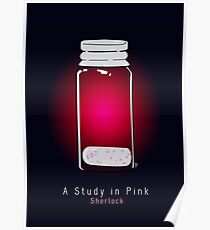 A Study in Pink Poster
