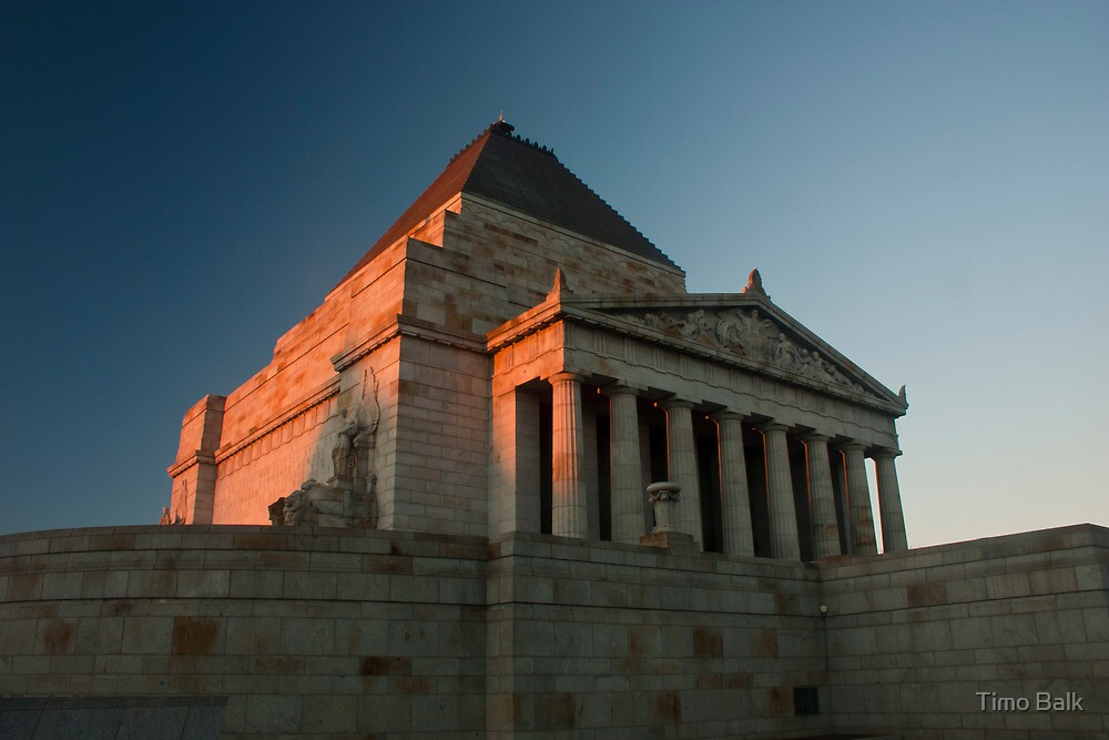 Shrine of Remembrance by Timo Balk