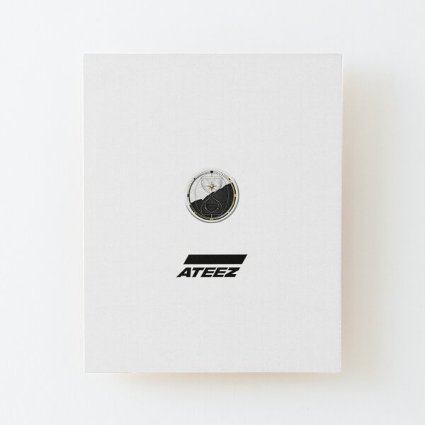 ATEEZ Songs Wood Mounted Print