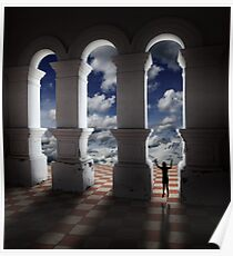Triumphant in Dreamland. Poster